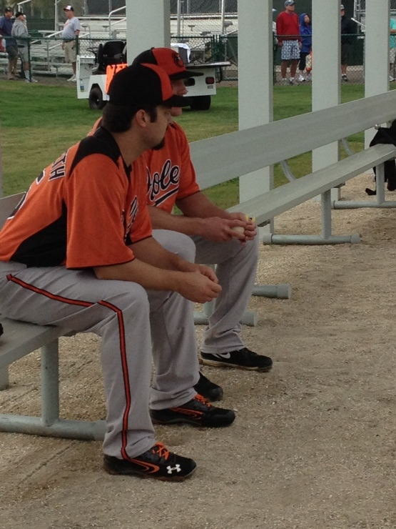 Daniel Schlereth and Daniel McCutchen.